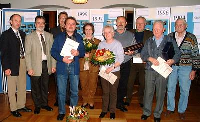Ehrungen zum Jubiläum 10 Jahre Exkursion der Freien Wähler Krautheim