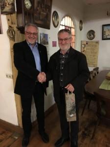 Verabschiedung Frieder Retzbach aus Vorstandschaft
