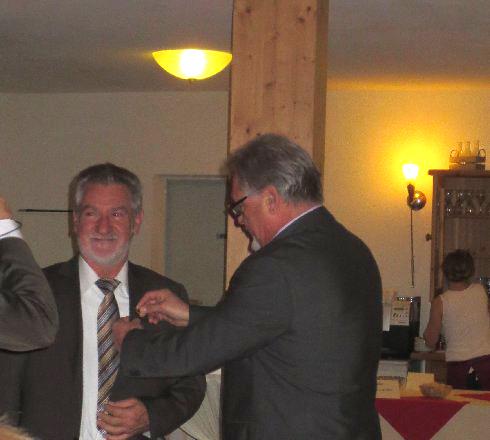 31.10.2013 Ehrung Frieder Retzbach anlässlich seines 60. Geburtstags