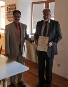 Verabschiedung Lothar Stockert